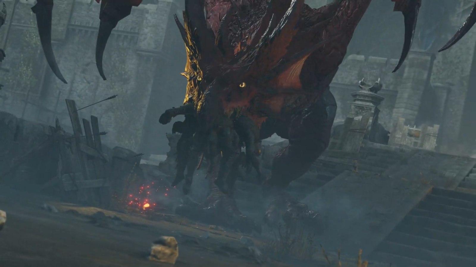 《恶魔之魂 重制版》公布12分钟实机游玩演示