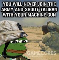 """""""我已经玩了三年cf,给我一把枪我也能上战场"""""""