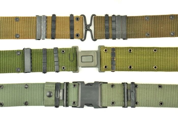 三种不同的ALICE腰带,其中静寂使用的是最后一种