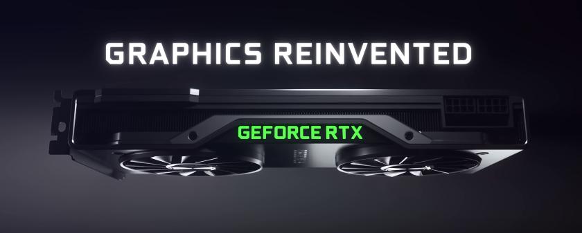 NVIDIA旗下全新一代显卡RTX 20系列正式公布