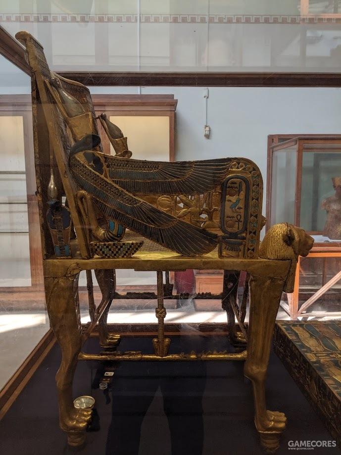 图坦卡蒙的椅子