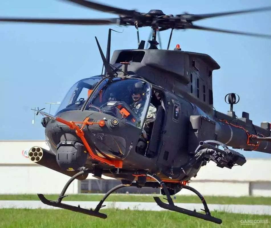 OH-58F项目本身也是个短平快的项目。不过陆军最终还是决定退役全部的OH-58机队。