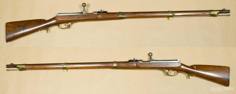 德莱赛针发枪,世界上第一种栓动步枪