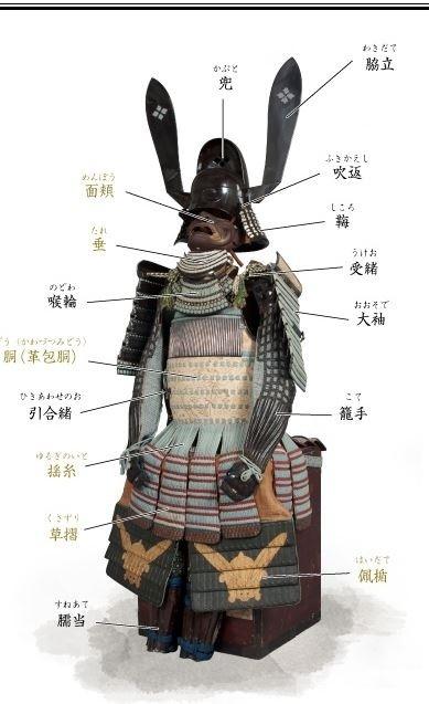 「黒漆塗の唐冠形兜」正面细节图