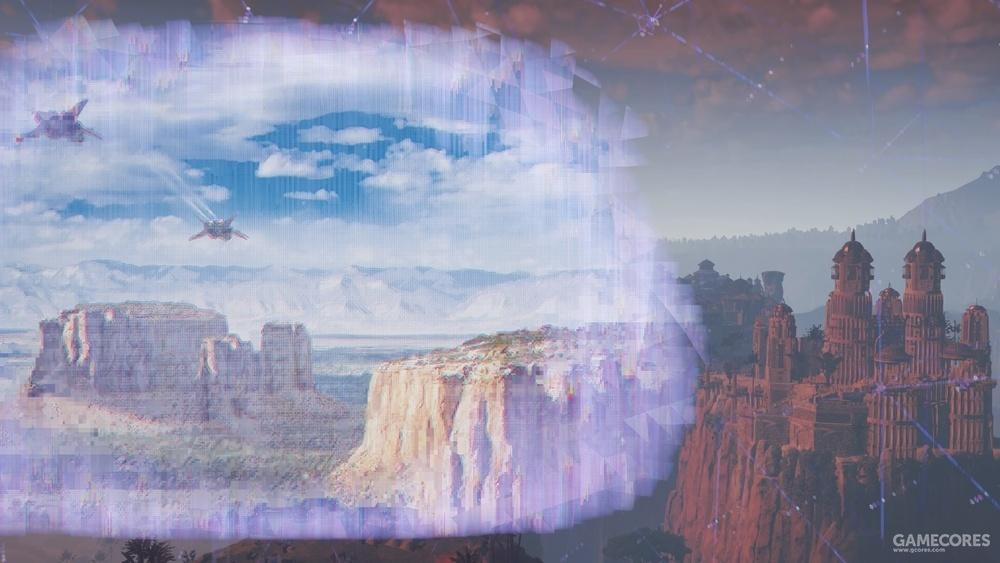 老鹰峡谷瞭望点
