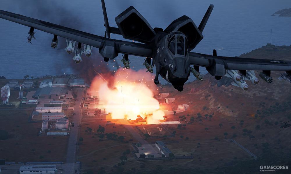 完成轰炸的A-164