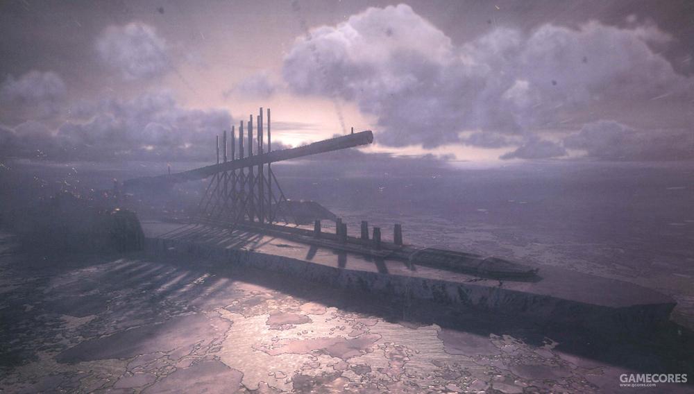 """在2016年""""EE""""战争中被发现的""""吊灯""""轨道炮,与其说是炮,不如说是建在冰山上的""""冰山战舰"""""""