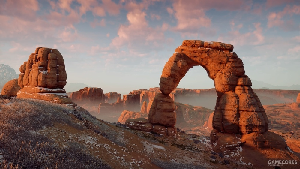 游戏中的精致拱门(Delicate Arch)