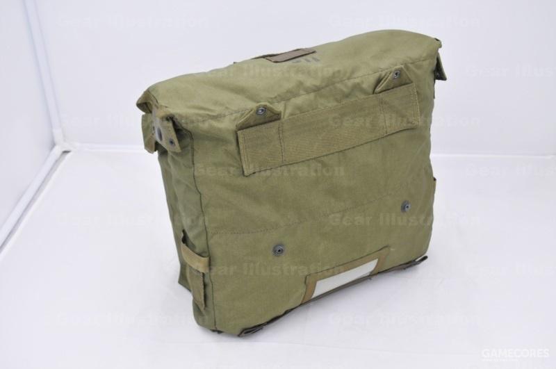 M-1967 USMC 装具的作战背包背面