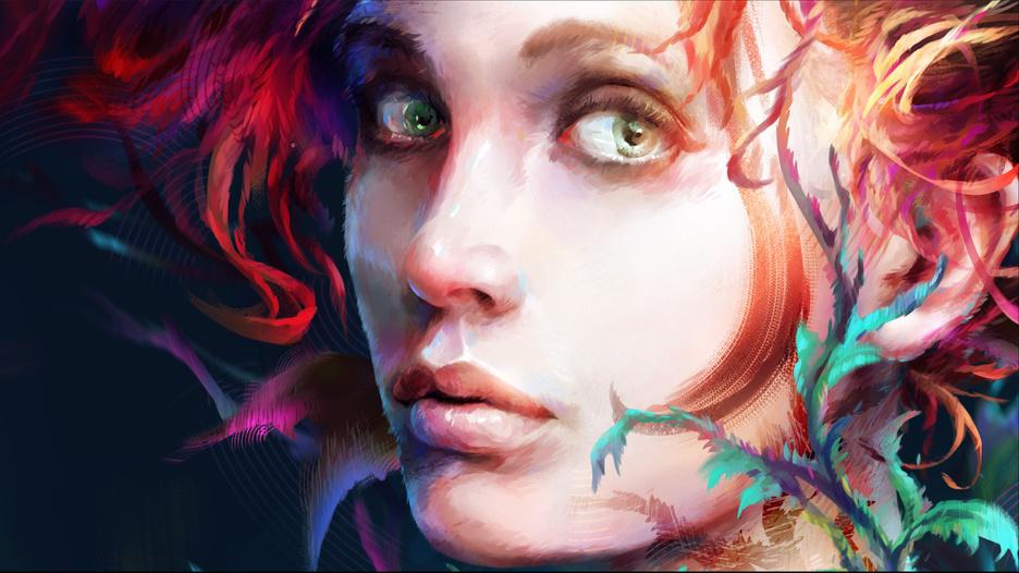 從遊戲出發:一個繪畫愛好者與玩家的作品演變