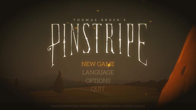 用獨立遊戲的口吻講一個細思極恐的故事:《Pinstripe》簡評