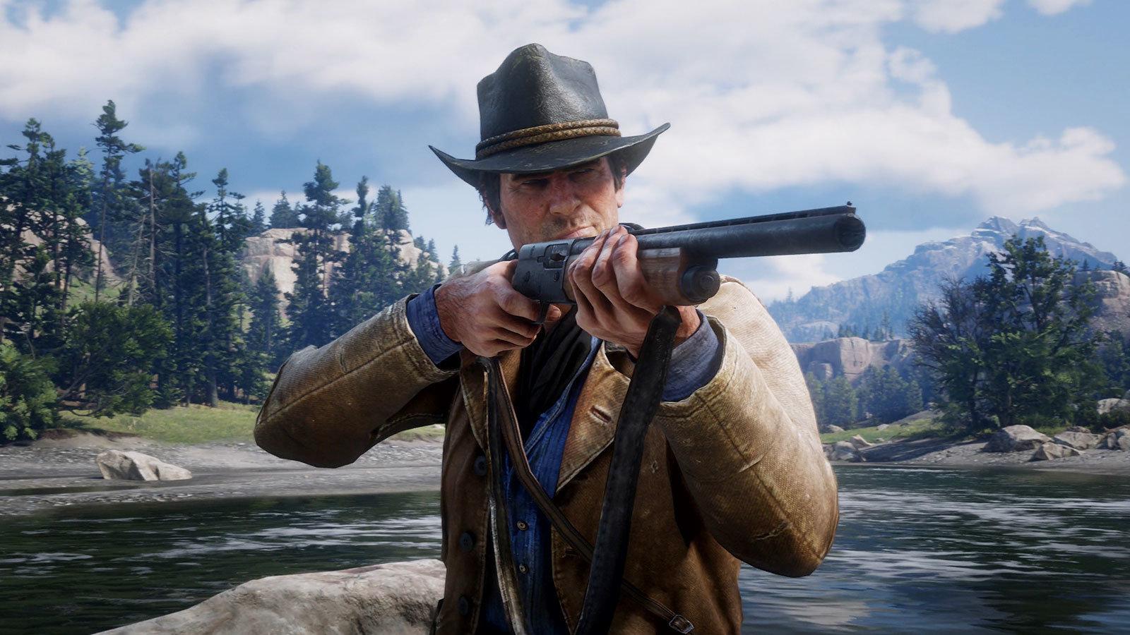 【简中预告】6分钟窥探一个活着的西部,Rockstar公布《荒野大镖客2》游戏演示预告片