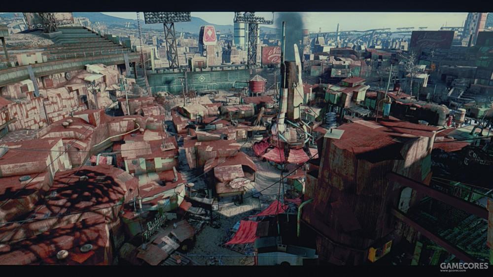 《辐射4》玩家建造的截图