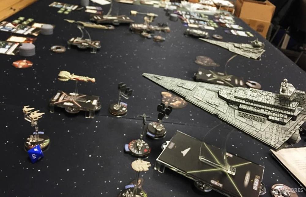 《无敌舰队》:星战舰队战游戏,也是涂装完成品