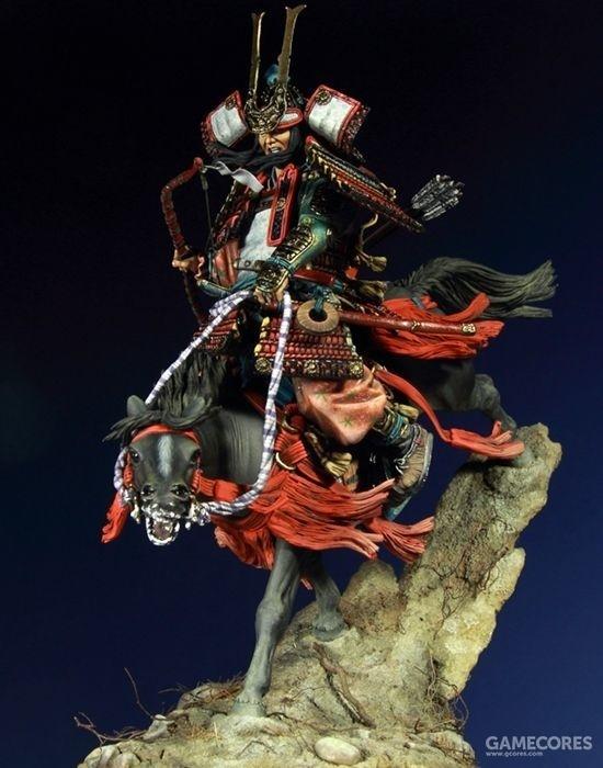 General Minamoto no Yoshitsune 90mm