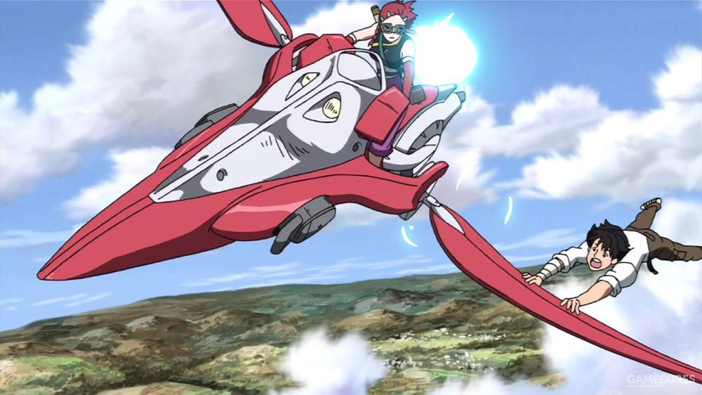娜琪亚美的红色飞行艇