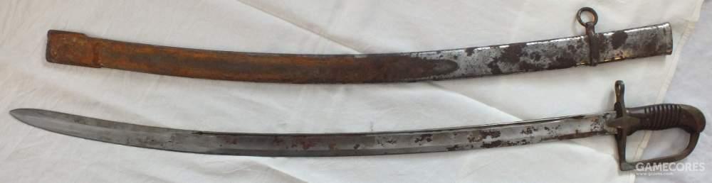 波兰wz.34式军刀,这种1934年生产的刀剑在二战时期曾被使用过。1939年波兰战役期间波兰骑兵一共有16次确认的冲锋,不过没有一次是针对坦克的
