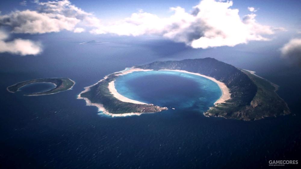 纽曼(Newman)陨石坑,位于灰堡岛(Fort Grays Island)以北的岛屿,在撞击之前该岛为USEA大陆东南海域最大的人口聚居地之一,其被遗弃的城市遗迹仍存在于岛屿西侧。