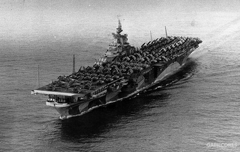埃塞克斯级USS 提康德罗加号(CV-14)