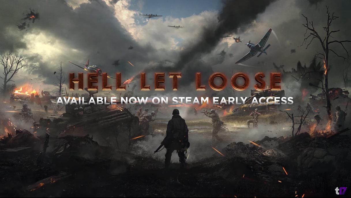 二战FPS《人间地狱》Steam 抢先体验现已发售
