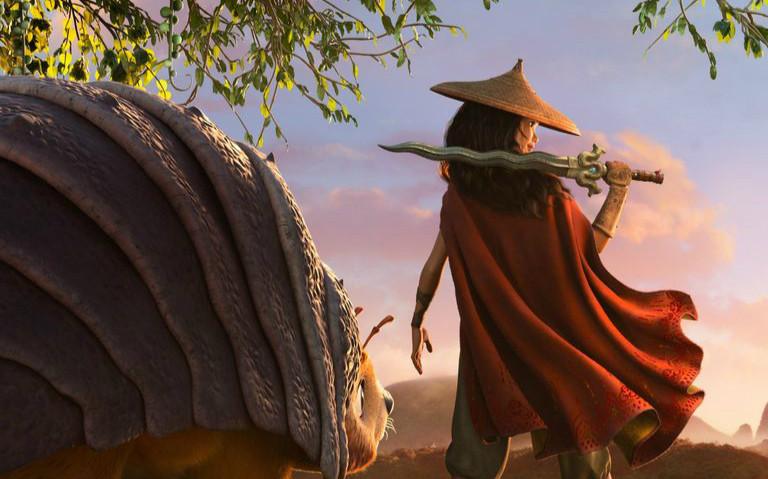 迪士尼全新动画电影《寻龙传说》放出先导预告