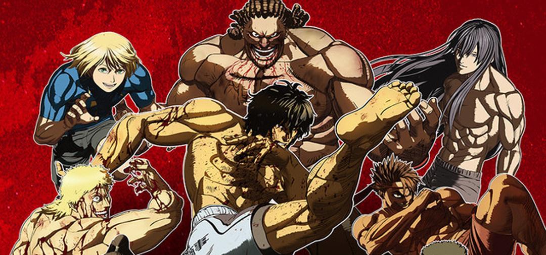 TV动画《拳愿阿修罗 Part2》10月31日Netflix上线