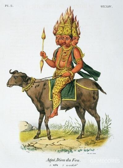 印度神话中的阿耆尼