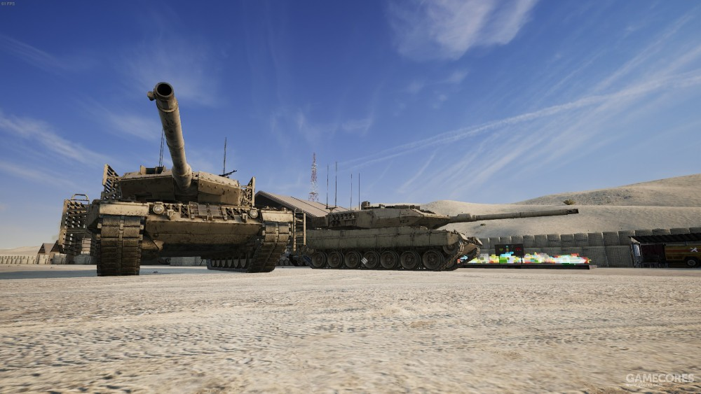 Leopard 2A6 主战坦克