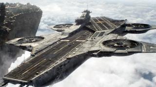 """复仇者联盟空天母舰是从这儿来的吗?聊聊苏联的图纸机""""雅克VVP-6空中战舰"""""""