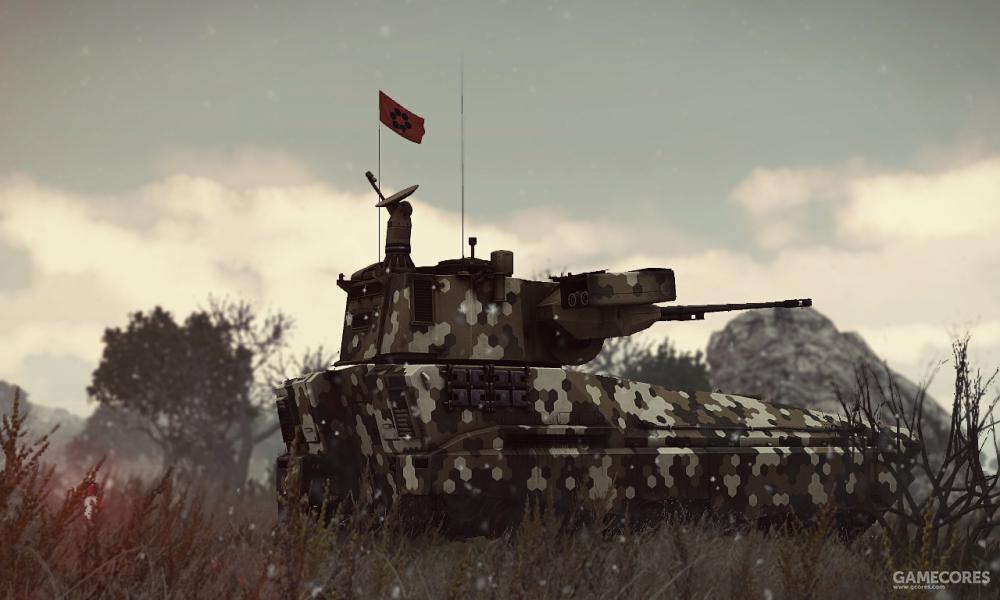 等待发射的ZSU-39