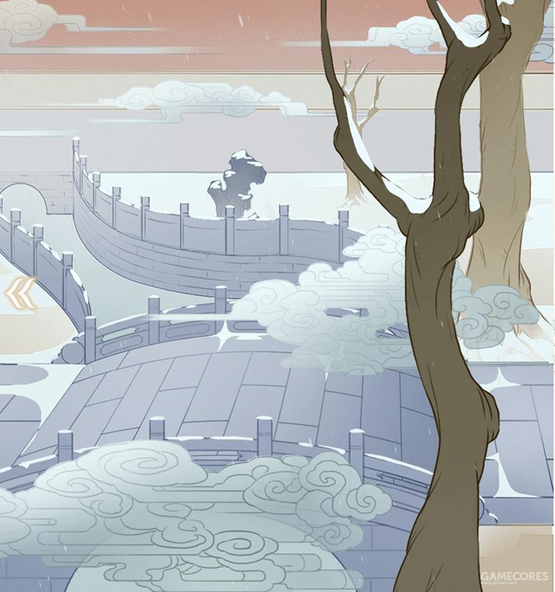 游戏中的断虹桥(狮子呢?)