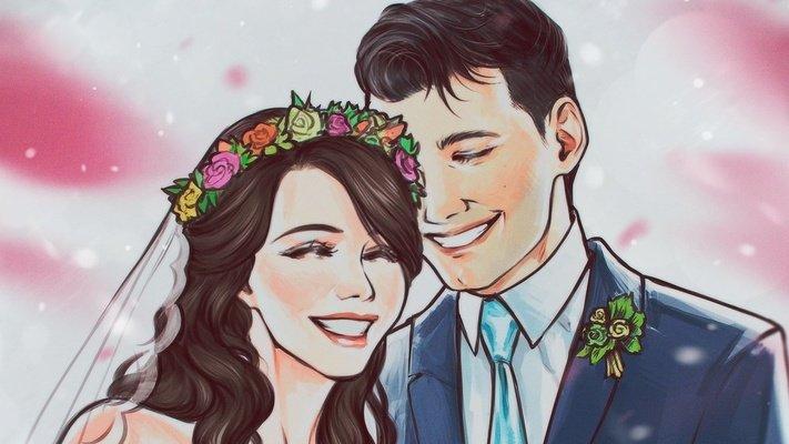 《底特律:变人》中康纳与崔西的扮演者今天结婚啦