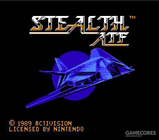 当然,这游戏的槽点在于虽然名称里有ATF,不过实际上却是开F-117的游戏。从这一游戏也足以见识大众对于新型武器系统认知的混乱程度。