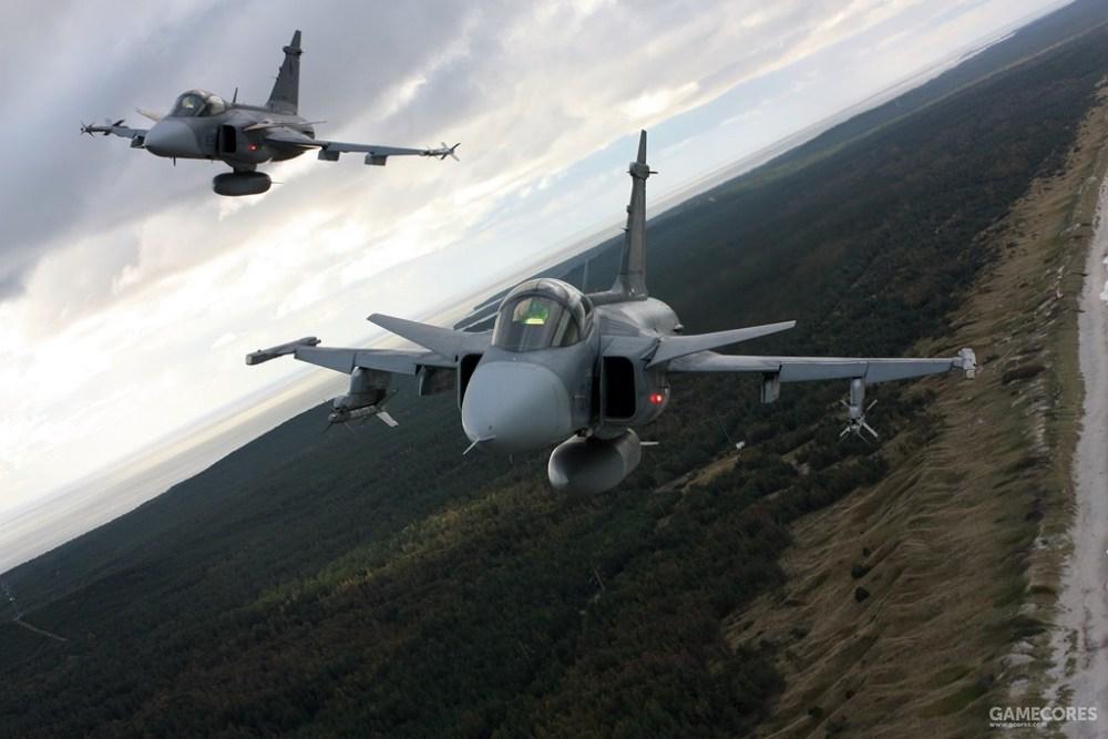 捷克空军的JAS-39
