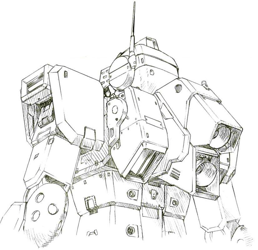 由于RGM-79GS的全向推力型背包操作和控制软件编写都极其麻烦,RGM-79SP的背包恢复了相对传统的设计。两个纵列的大推力推进器和两侧的辅助推进器构成了其主要结构。这一结构为后来的MSA-003 Nemo所继承。