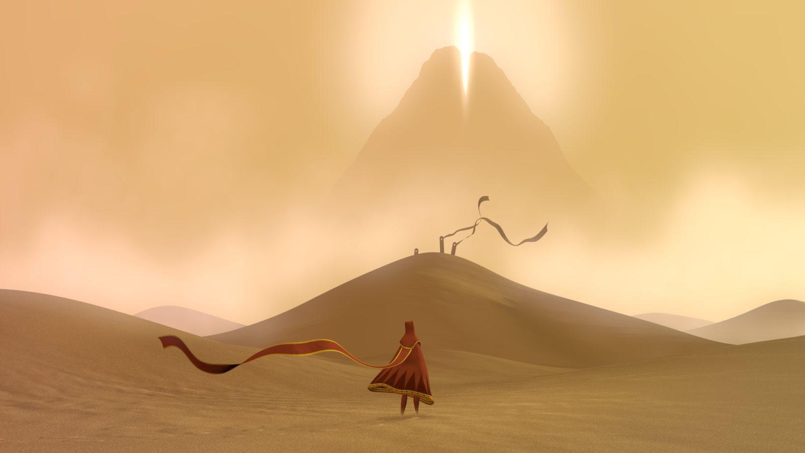 《风之旅人》正式登陆iOS,现在可以在手机上体验至美之旅了