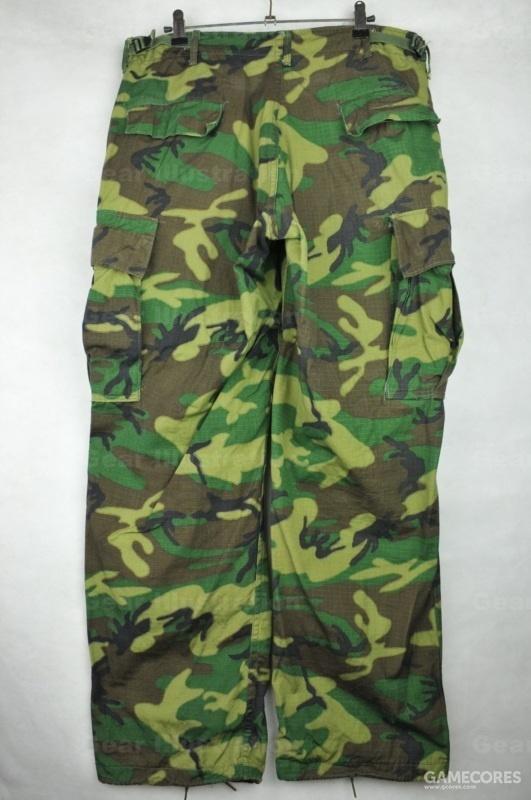 高地版ERDL裤子背面
