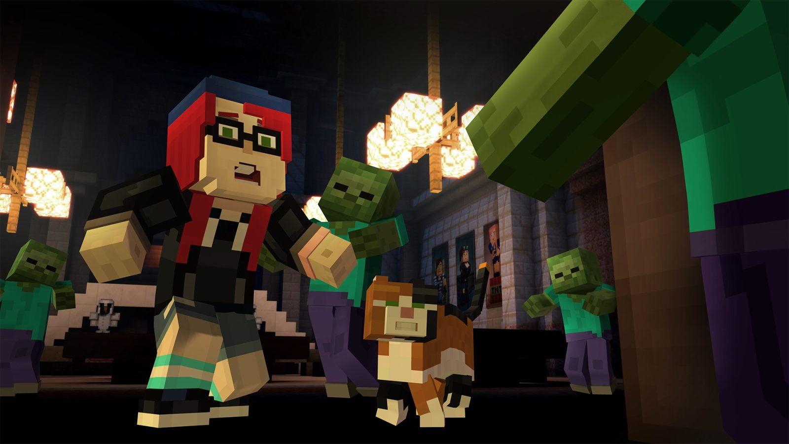 坚守阵地! Xbox 360 为《我的世界:故事模式》提供下载至6月25日