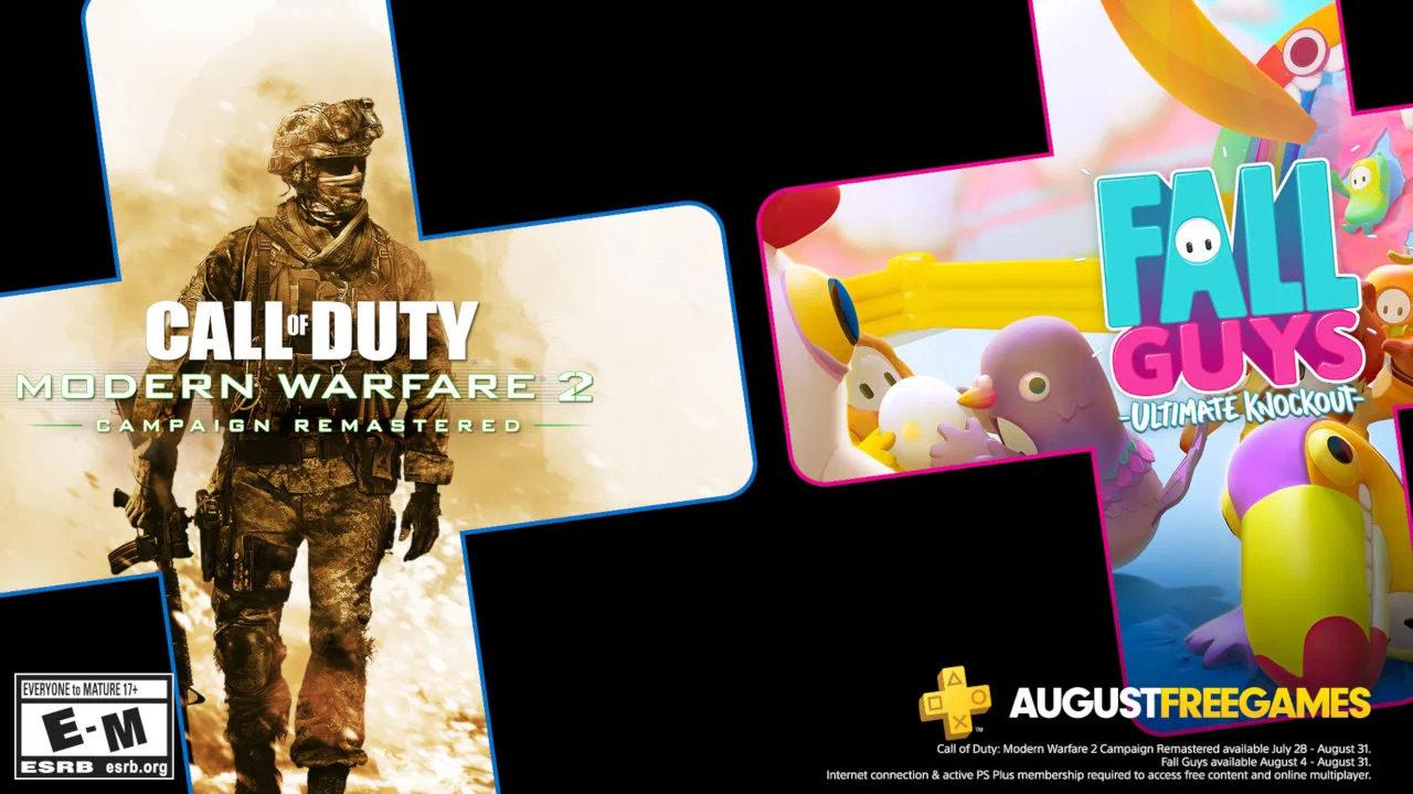 【更新港服情况】《糖豆人》发售即送,还有《使命召唤 现代战争2 战役复刻版》,PS Plus八月会免阵容公开