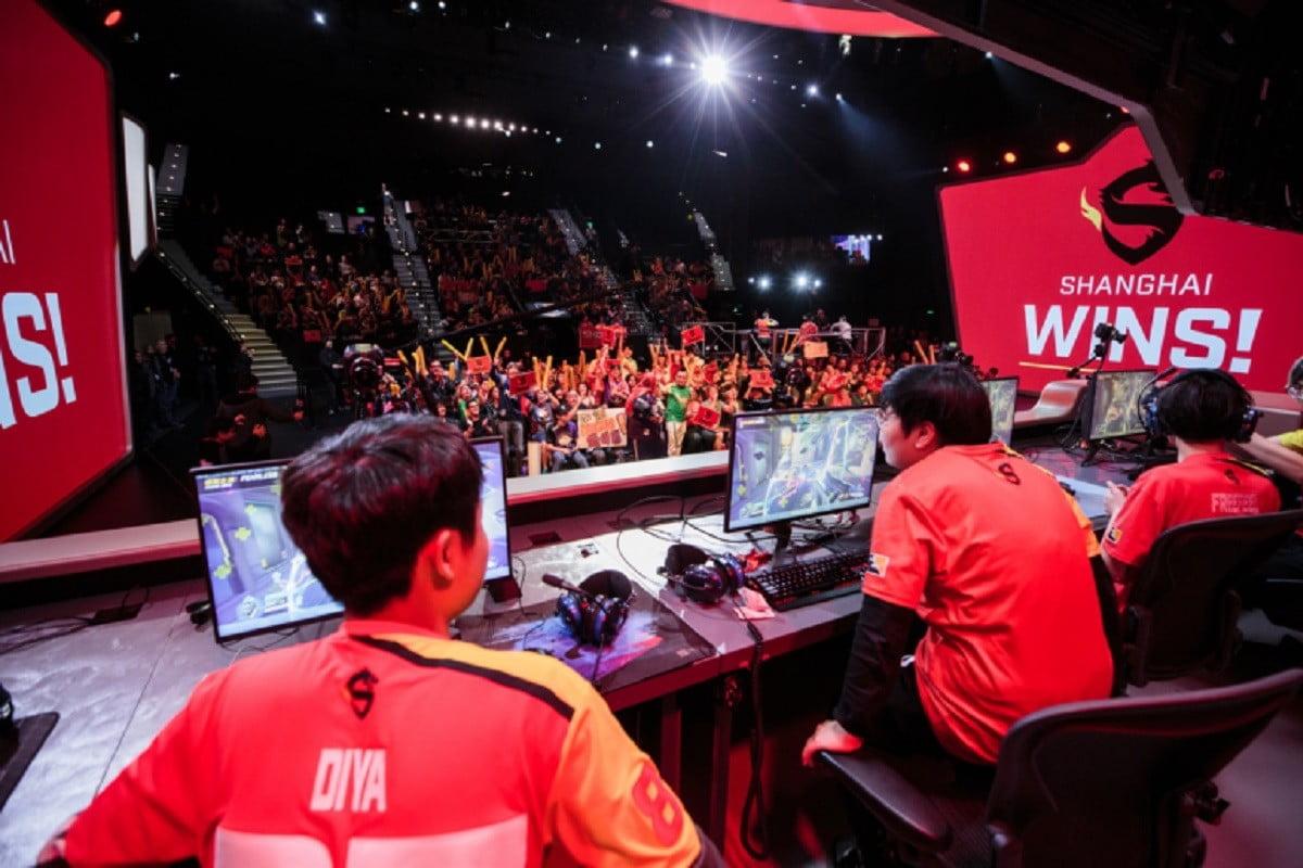 上海龍之隊獲得《守望先鋒聯賽》第二賽季第三階段冠軍