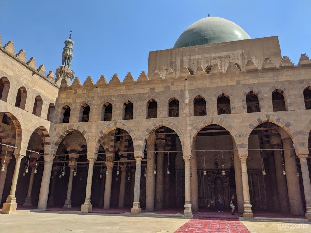 清真寺内部