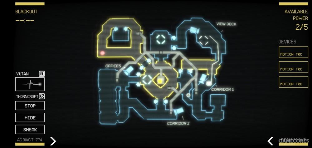 三部运动跟踪器能够在地图上显示异形的动向,但侦测范围仅限于固定的三个区域