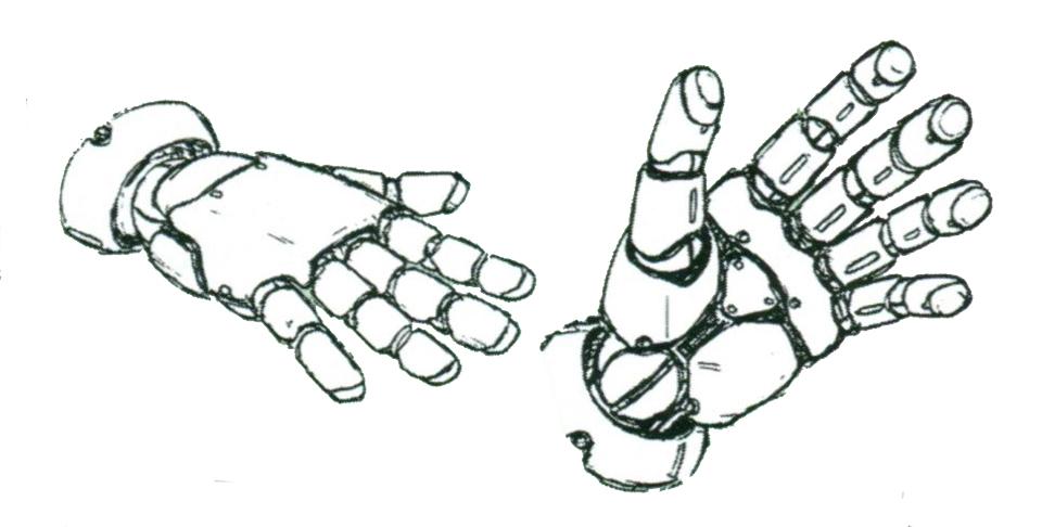 除了驾驶舱统一外,最为关键的就是第二批次量产型MS全部配备了相同的手掌结构。因此不再需要考虑不同型号MS手掌大小等问题,只需要适配通用型手掌一个型号即可。不过重量或后坐力过高的武器依旧只能由部分机型使用。