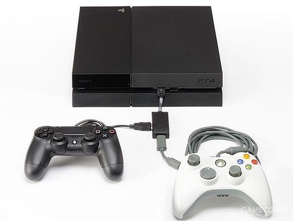 Xbox 360手柄接入示意