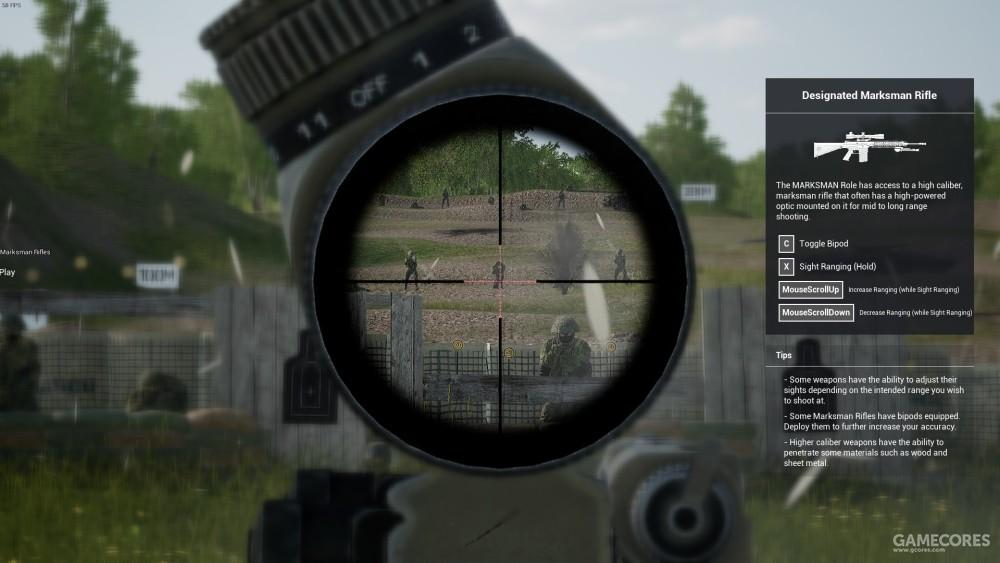 高倍率光学瞄具