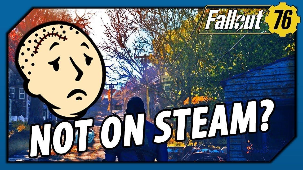 《辐射76》将不会登陆Steam