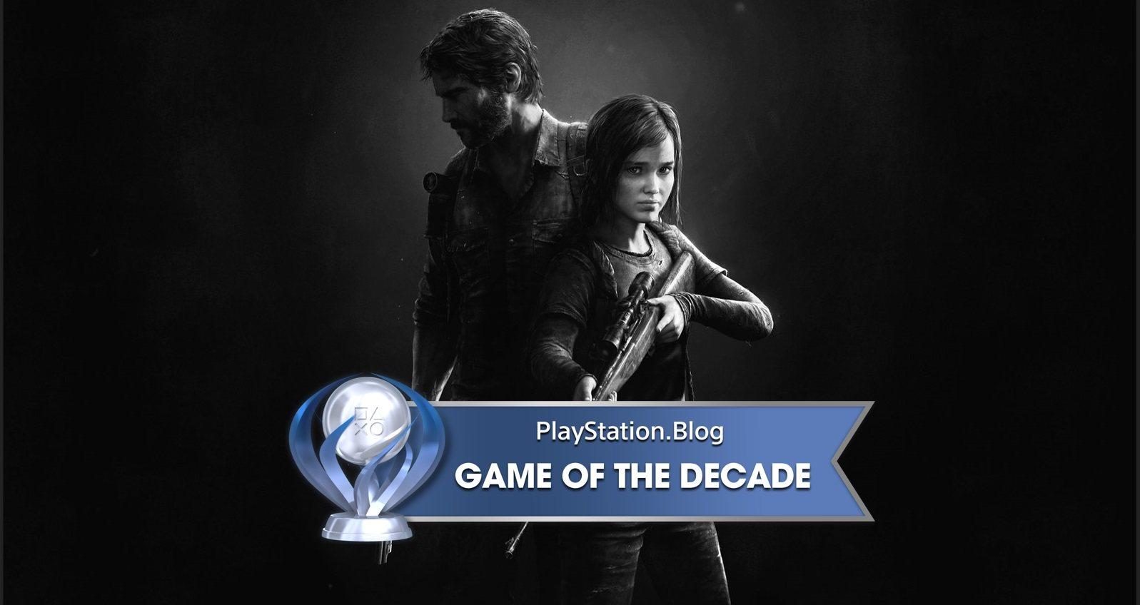 PlayStation社群选出十年最佳游戏:《最后生还者》荣获白金奖杯