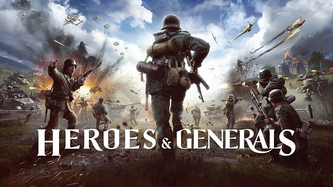 免费二战多人射击游戏《英雄与将军》宣布加入中文支持