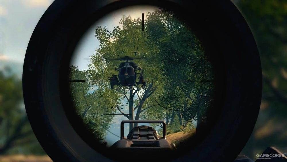狙击步枪瞄具的刻度不知道能否发挥作用