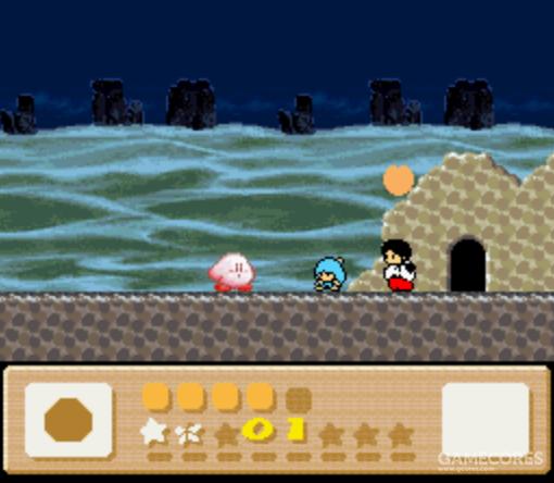 关卡3-4:どんべ和ひかり,来自1987年任天堂磁碟机游戏《新・鬼ヶ島》